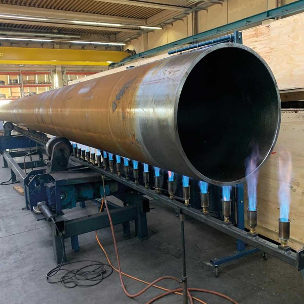 Flüssiggas als Energiequelle in der Industrie