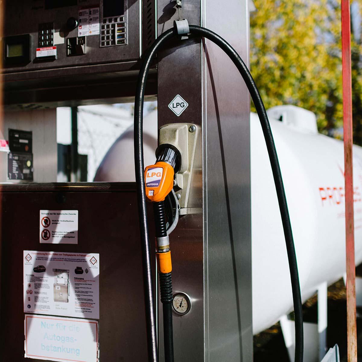 Autogas Tankstelle von Profigas