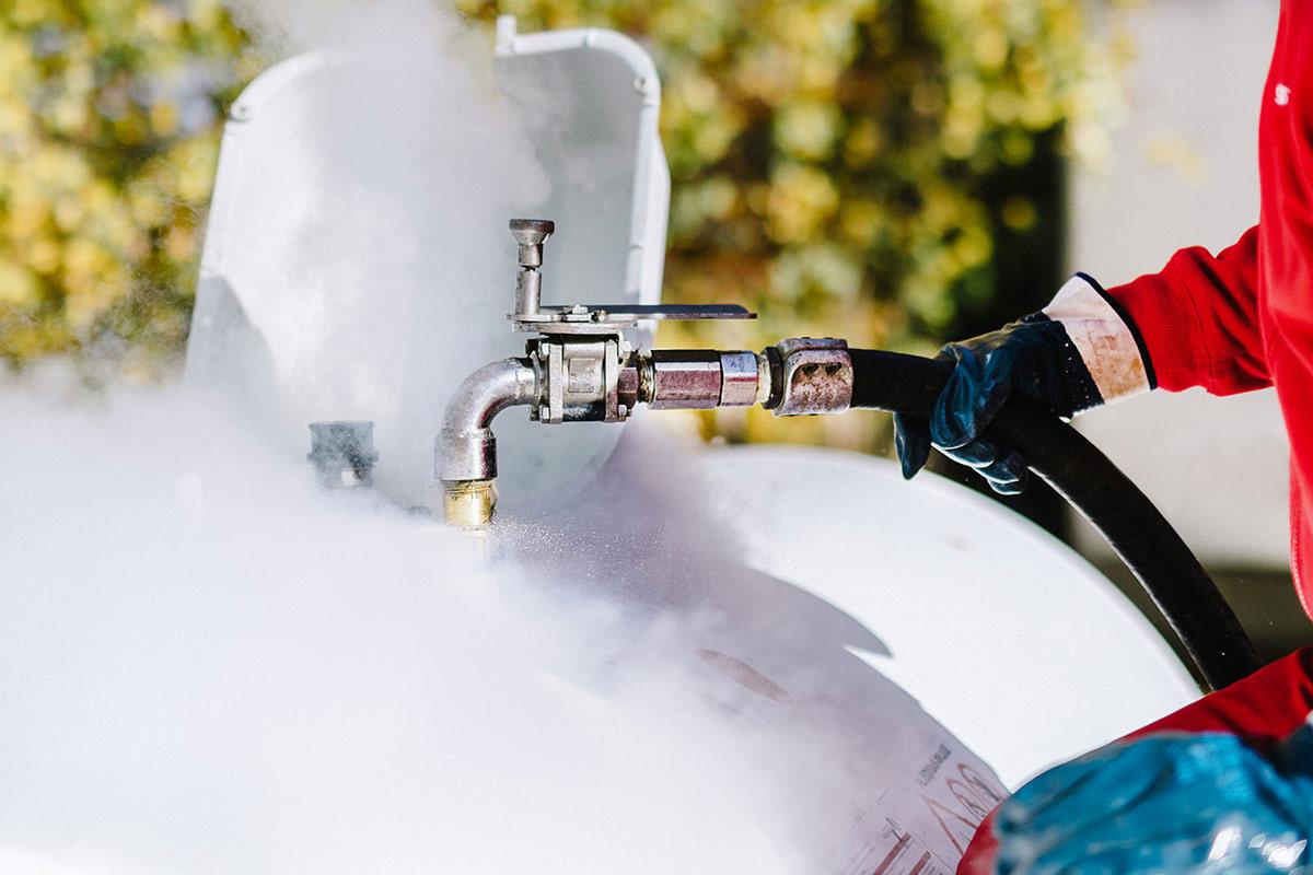 Flüssiggas für Industrie und Unternehmen
