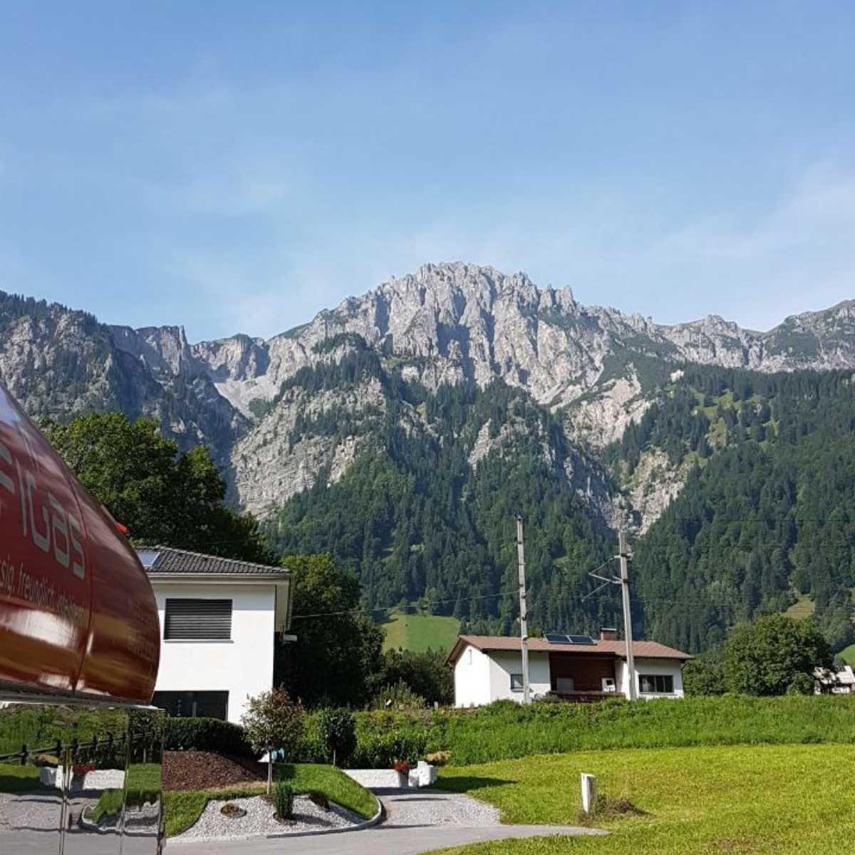 Profigas LKW in der Schweiz