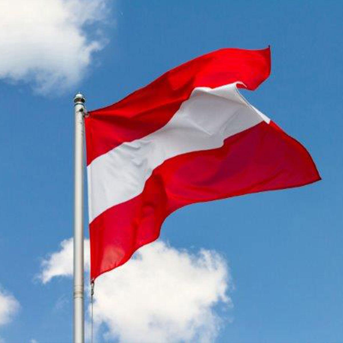 Flagge von Oessterreich
